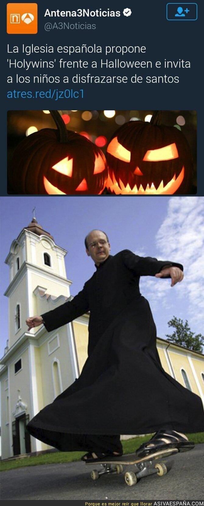 56087 - La Iglesia española propone un Halloween propio de nuestro país