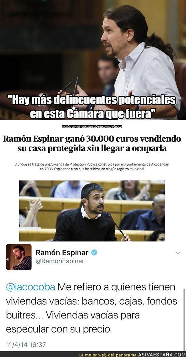 56534 - Ramón Espinar estaba allí ese día que dijo esto Pablo Iglesias