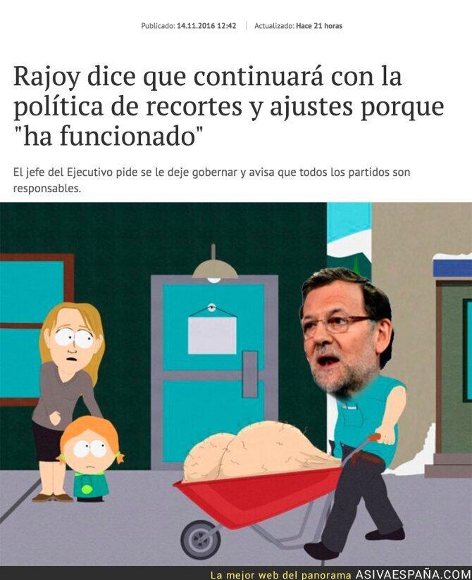 57271 - Mariano Rajoy seguirá con su especialidad, disfrutad lo votado