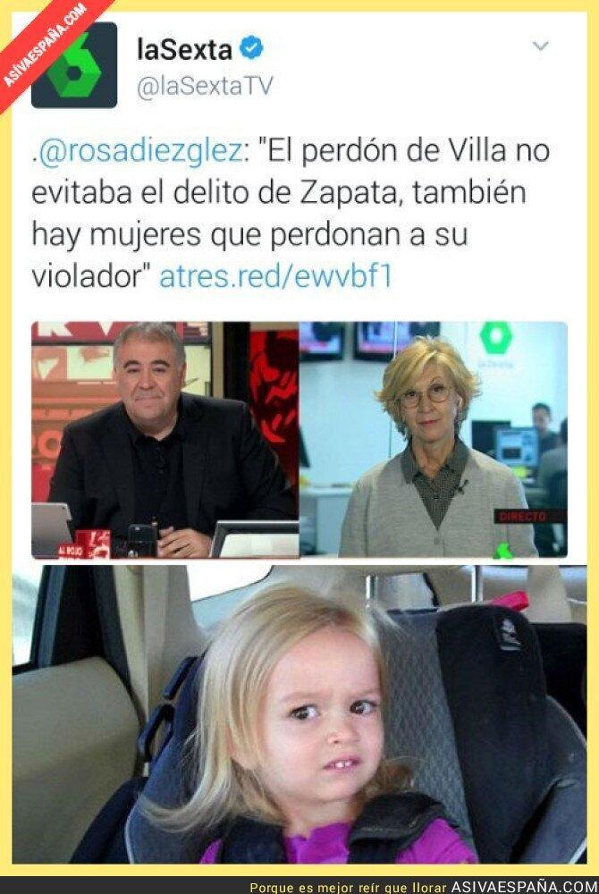57334 - La lamentable frase que soltó Rosa Díez en Al Rojo Vivo que indignó a todo el mundo