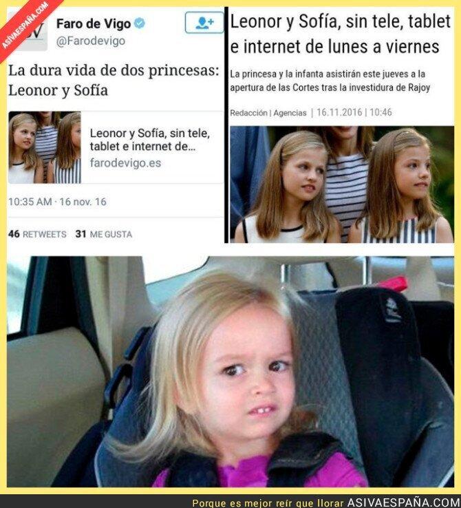 57607 - Es muy dura la vida de las princesas de España