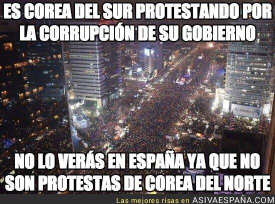 58027 - es corea del sur protestando por la corrupción de su gobierno