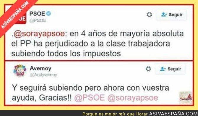 58546 - En el PSOE siguen tan confusos que se hieren a si mismos