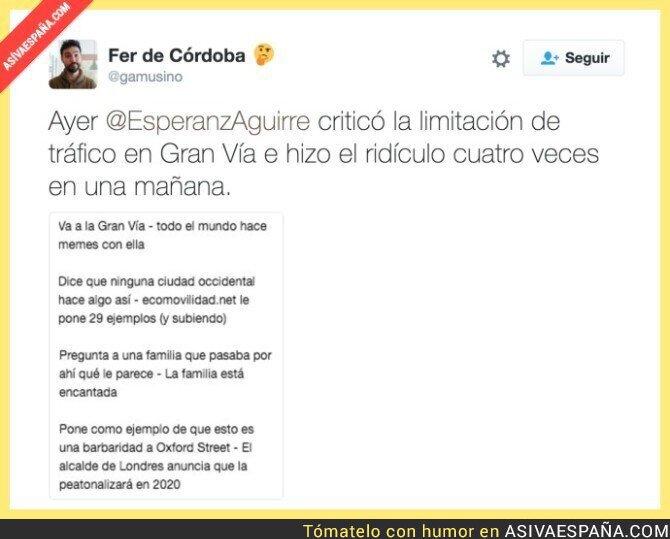 58621 - La credibilidad de Esperanza Aguirre es totalmente nula