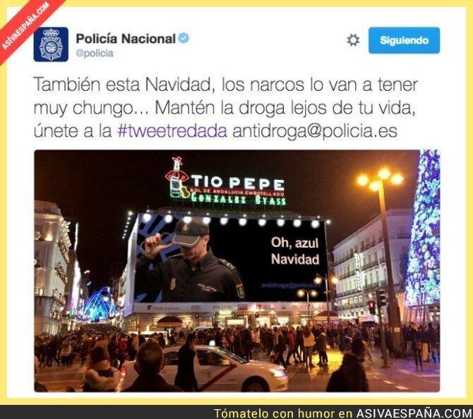 59176 - La respuesta de la Policía a la polémica valla publicitaria de la serie 'Narcos'