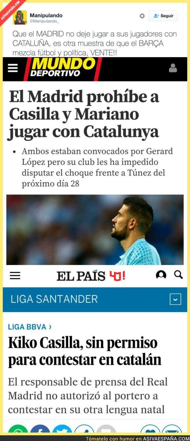59539 - La que se liaría si es el Barça el que prohíbe a algún jugador ir con España