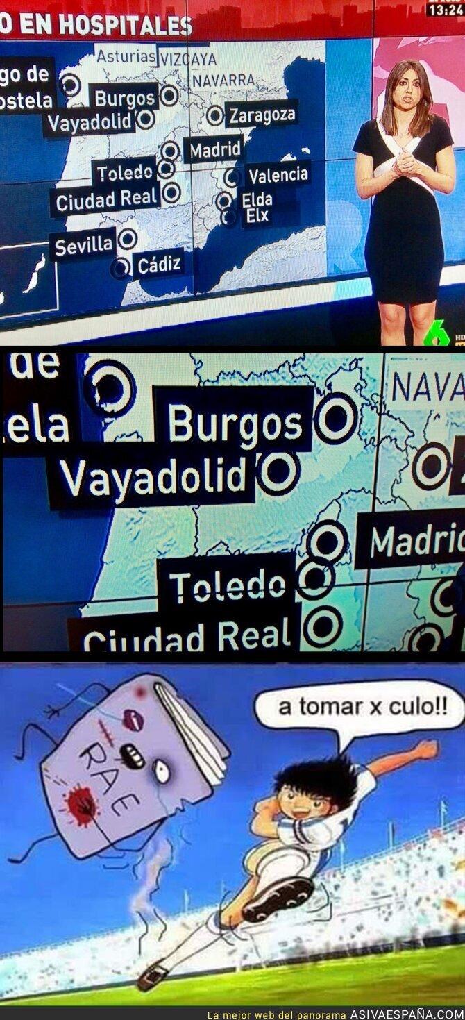 60675 - La falta ortográfica en Al Rojo Vivo que te hará llorar sangre