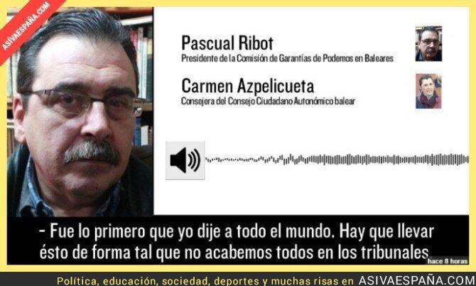 60789 - Encubrimiento de fraude en Podemos Baleares
