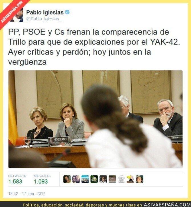 60979 - PP, PSOE, Cs: el triunvirato de la vergüenza