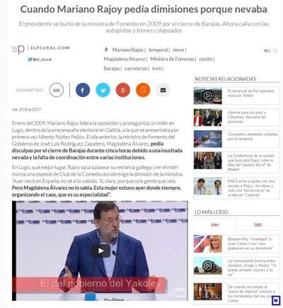 61215 - Rajoy ahora no pide dimisiones [Ver + dentro]