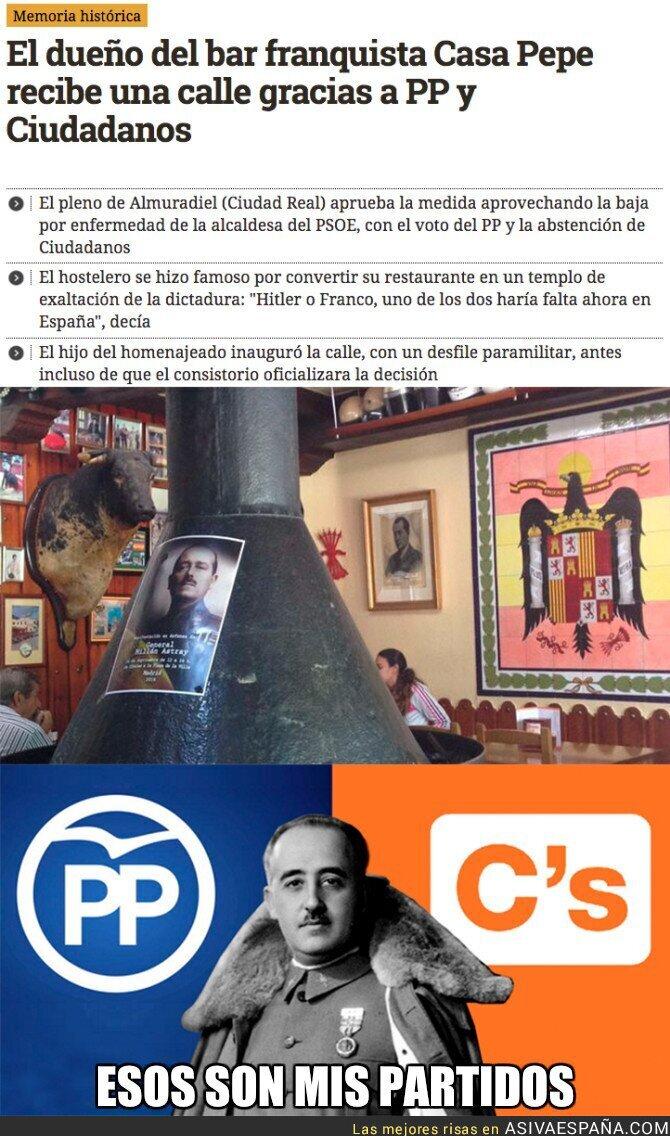 61414 - El homenaje de Ciudadanos y PP al famoso bar franquista Casa Pepe