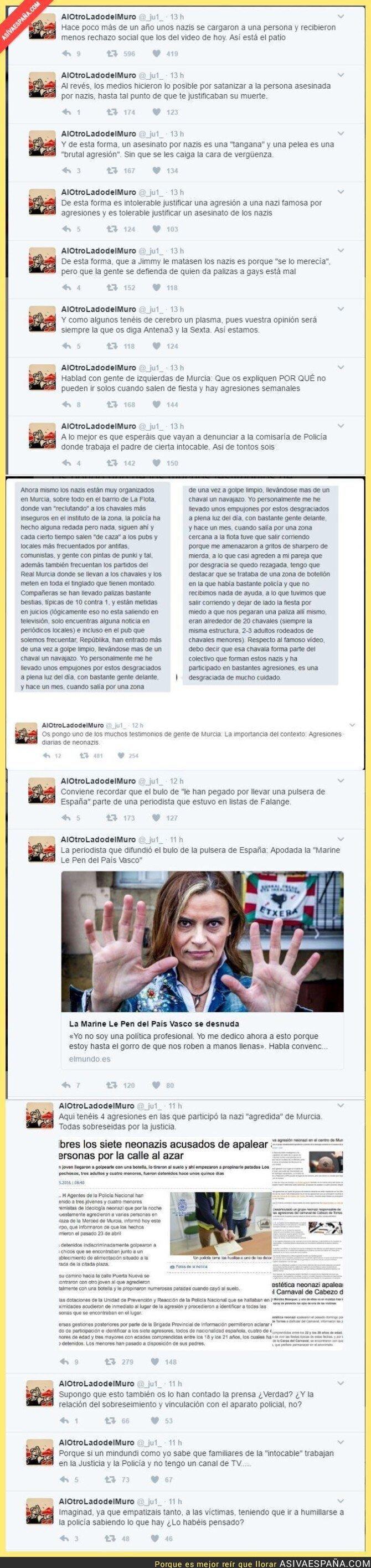 61417 - Un poco de contexto sobre las agresiones NEONAZIS diarias en Murcia
