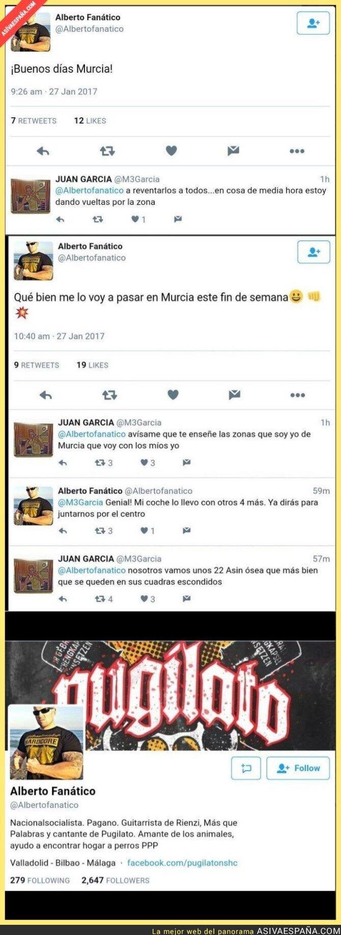 61676 - Menos mal que no era cierto lo de que en Murcia campen a sus anchas los neonazis