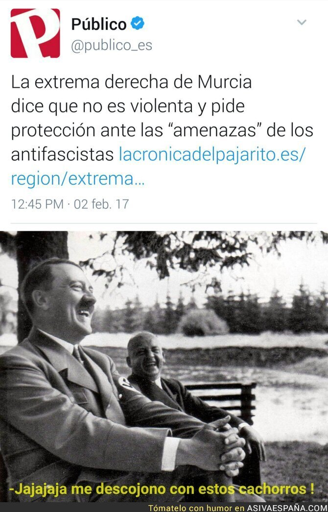 62102 - Los nazis piden protección en Murcia