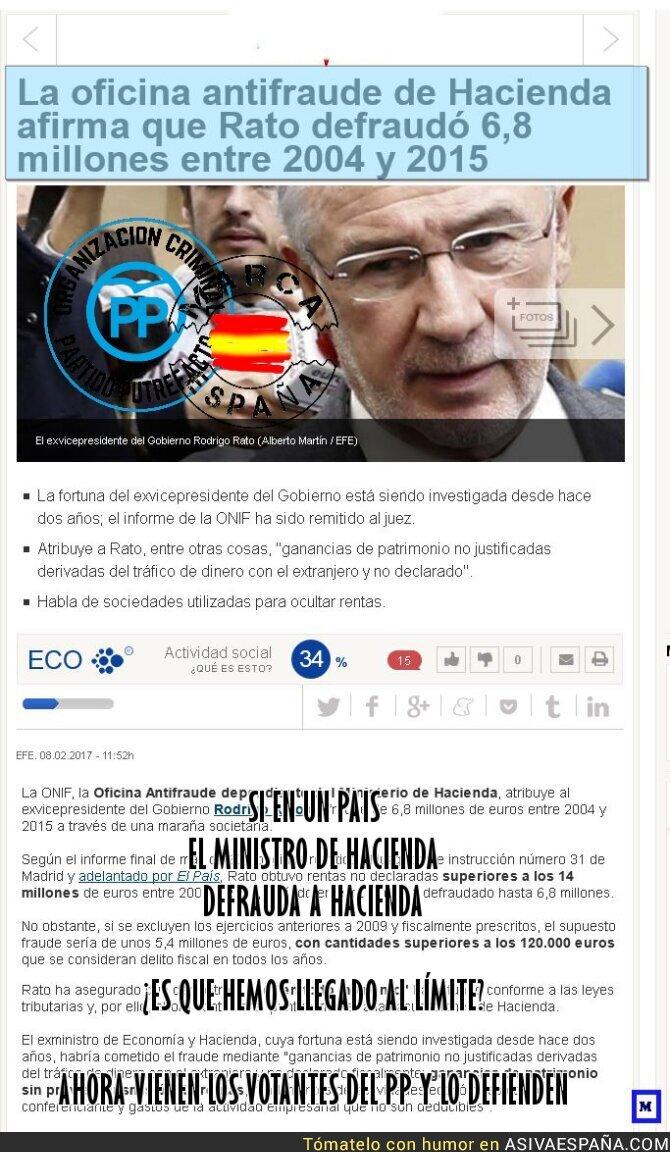 62412 - El Ministro de Hacienda del PP que defraudó a Hacienda