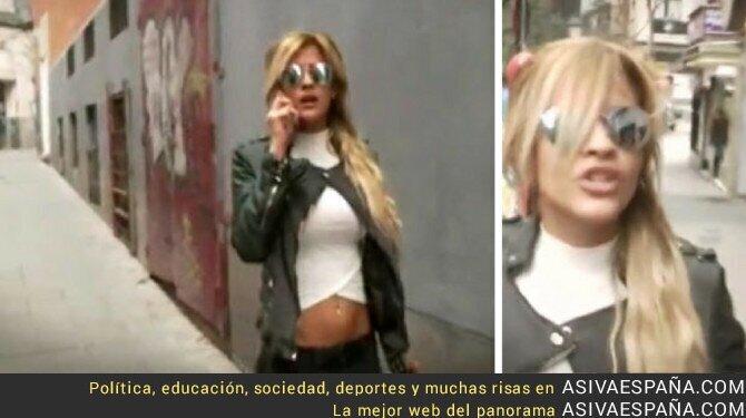 62455 - Ylenia protagoniza una pelea de chonis con una reportera en plena calle