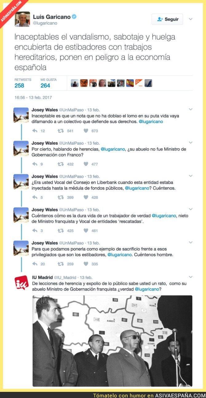 62854 - Luis Garicano, responsable económico de Ciudadanos se lleva un buen repaso tras este lamentable tuit
