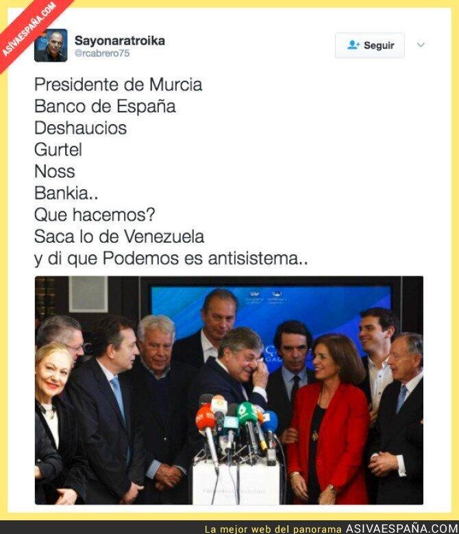 62948 - Siempre que hay problemas en España, sale Venezuela