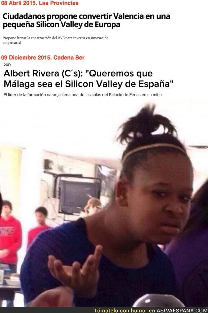 62960 - Ciudadanos no se aclara ni con Silicon Valley en España