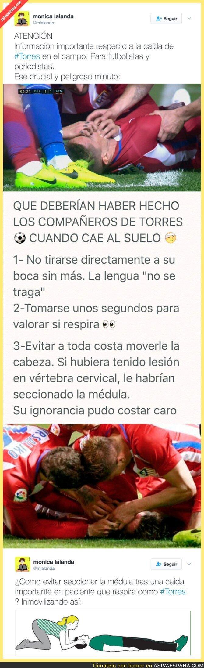 63959 - Fernando Torres corrió un gran peligro tras su terrible caída