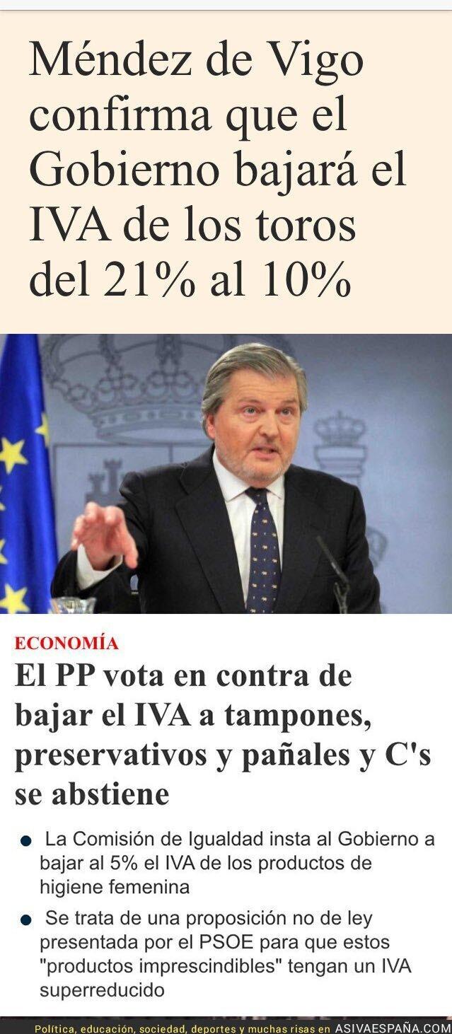 64121 - El Partido Popular bajará el IVA de los toros