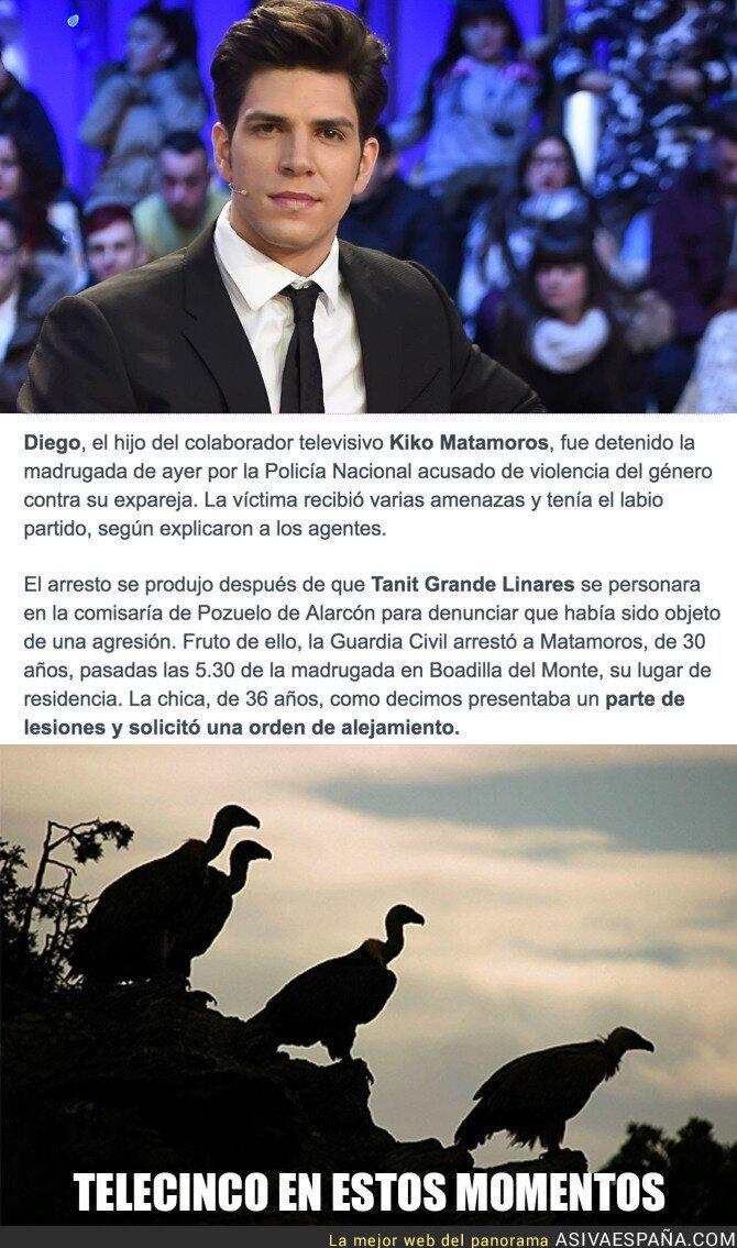 64423 - ÚLTIMA HORA: Detenido Diego Matamoros, hijo de Kiko Matamoros por un gravísimo delito