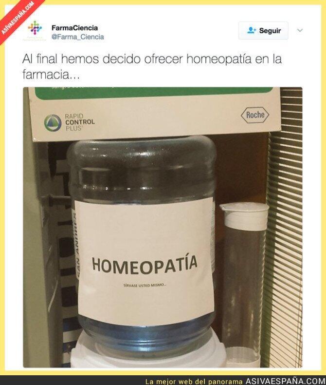 65054 - El dispensador de medicamentos homeopáticos