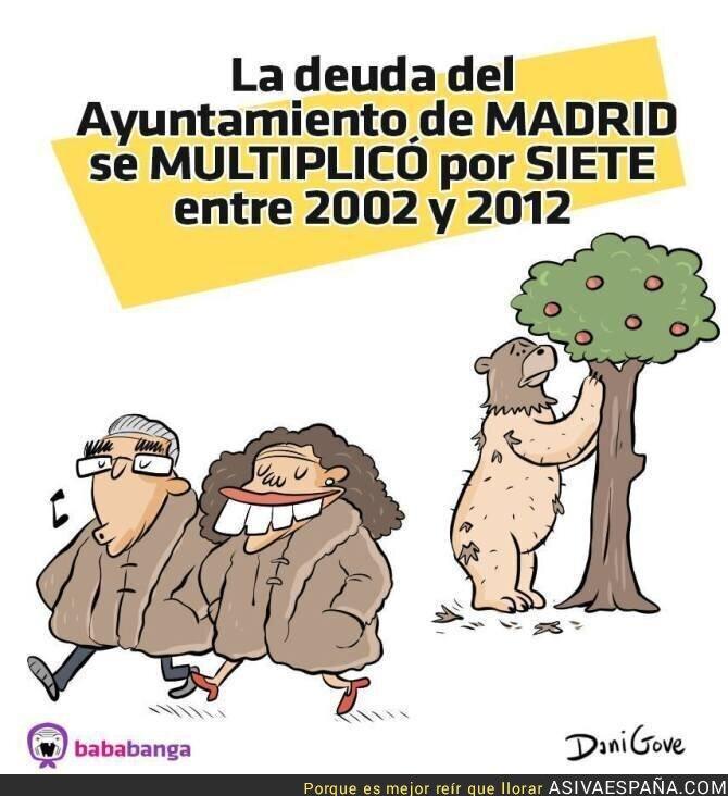 65166 - Han saqueado el Ayuntamiento de Madrid