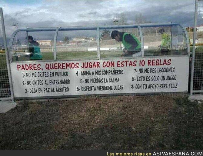 65223 - La solución en un campo de Salamanca contra la violencia en el fútbol infantil