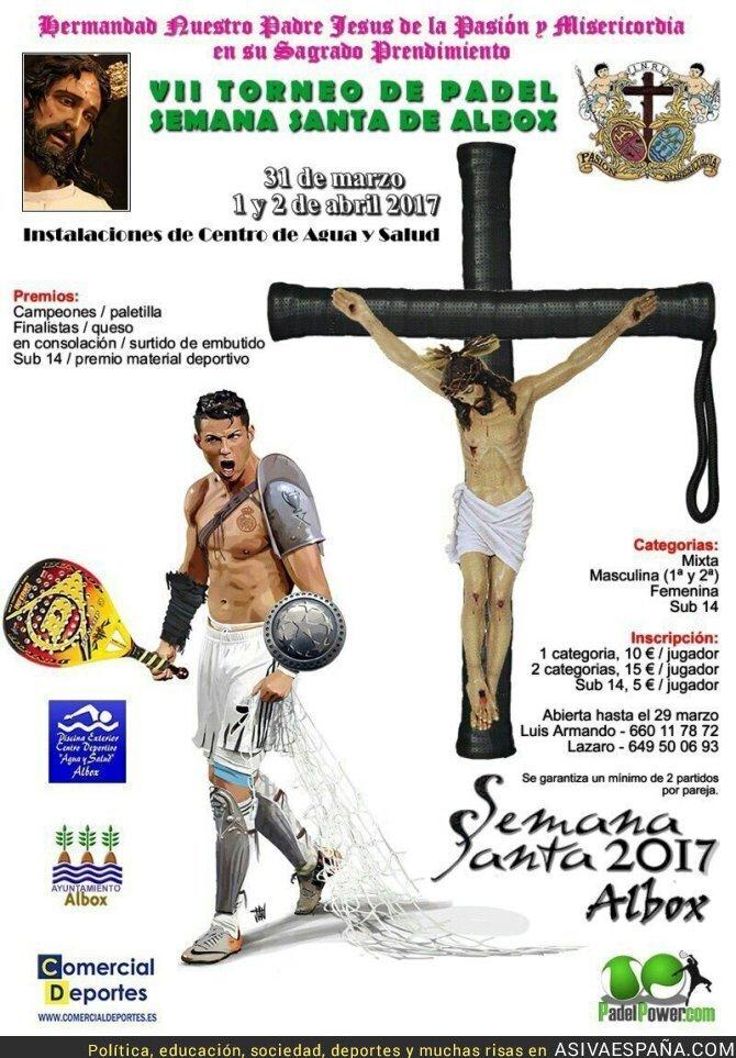65250 - El brillante cartel del torneo de Padel en Albox con miles de detalles