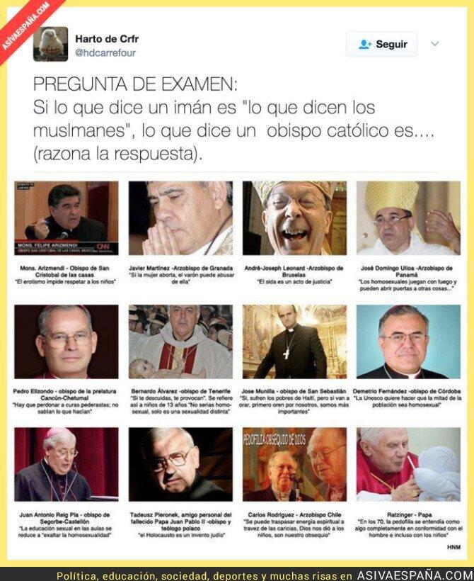 65281 - Las terribles frases que han dicho algunos famosos obispos