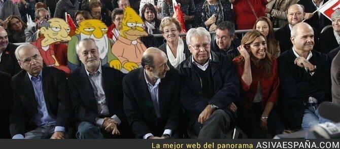 65289 - Las juventudes del PSOE apoyando a Susana Díaz