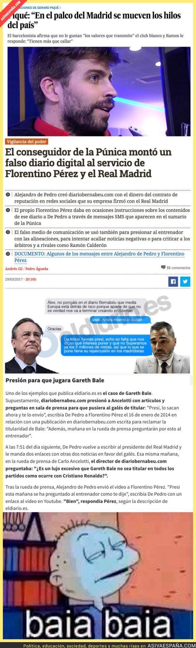 65480 - Piqué no estaba tan equivocado hablando del palco del Bernabéu y hoy se confirma