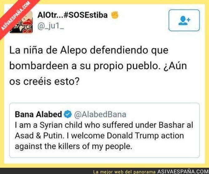 65918 - La niña de Alepo hace de las suyas