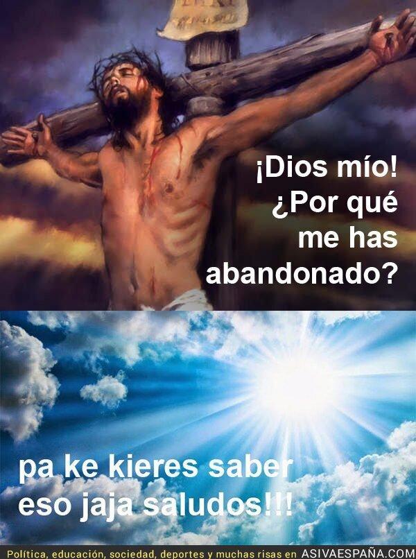 66245 - Cuando Dios troleó a Jesús