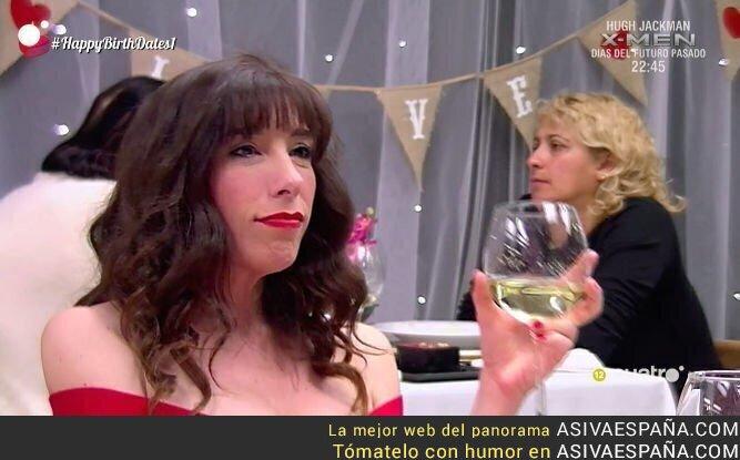 66524 - ¡60 kilos menos! Una finalista de La Voz reaparece en First Dates ¡buscando pareja!