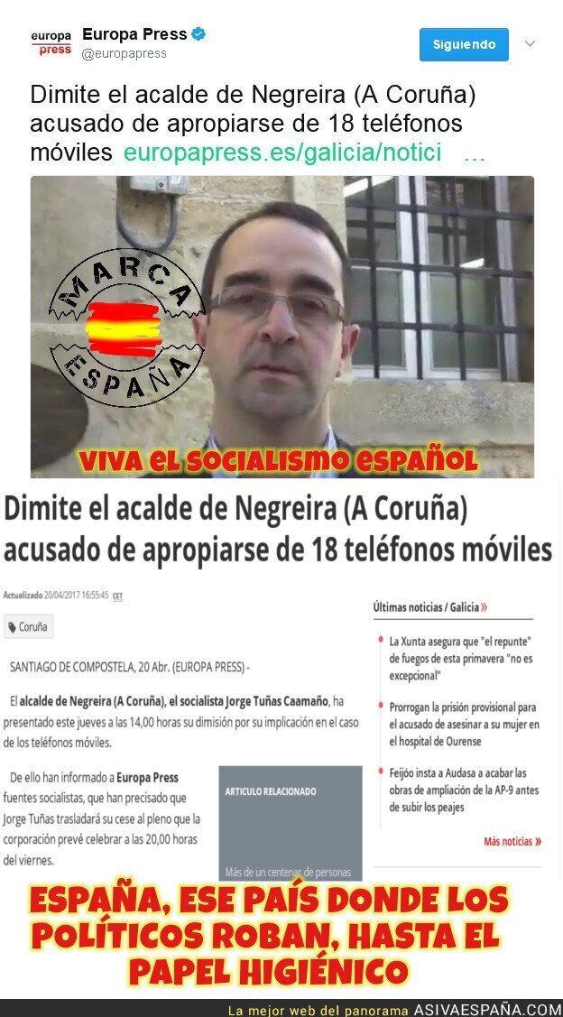 66686 - Políticos españoles, robando dentro de poco hasta el papel higiénico.