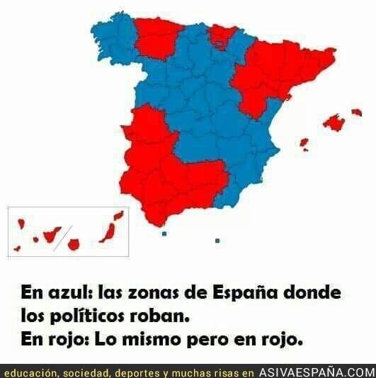66895 - España en dos colores