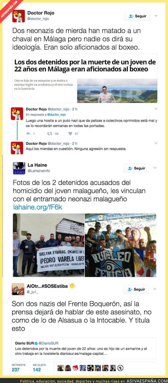 67049 - Matan a una persona dos neonazis en Málaga y la prensa lo oculta
