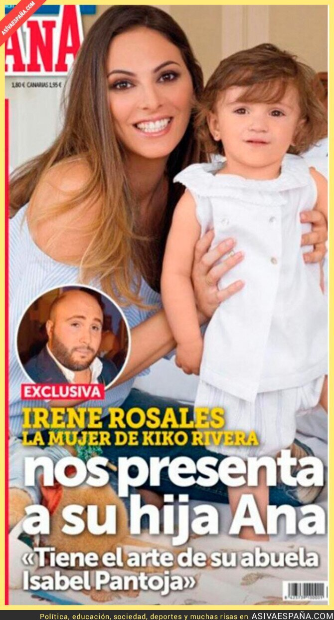 67420 - Sale a la luz la cara de la hija de Kiko Rivera y son como dos gotas de agua