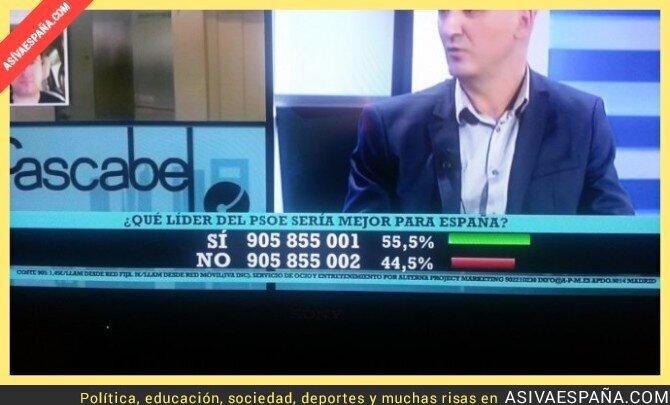 67445 - SI y NO luchan a muerte por el poder en el PSOE