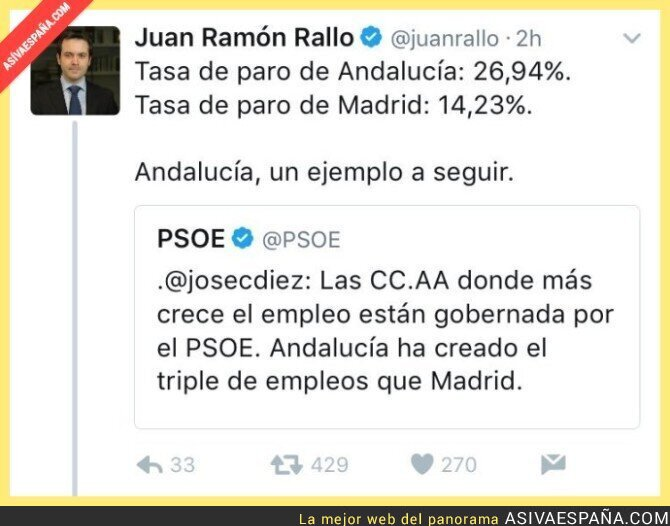 67529 - Andalucía NO es un ejemplo a seguir