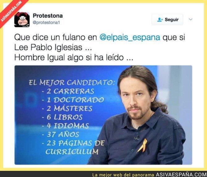 67536 - Ahora Pablo Iglesias es un mindundi