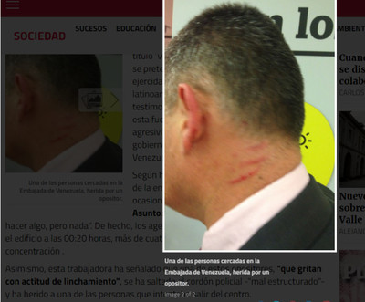 68002 - La pacífica oposición venezolana, de nuevo armando jaleo en España