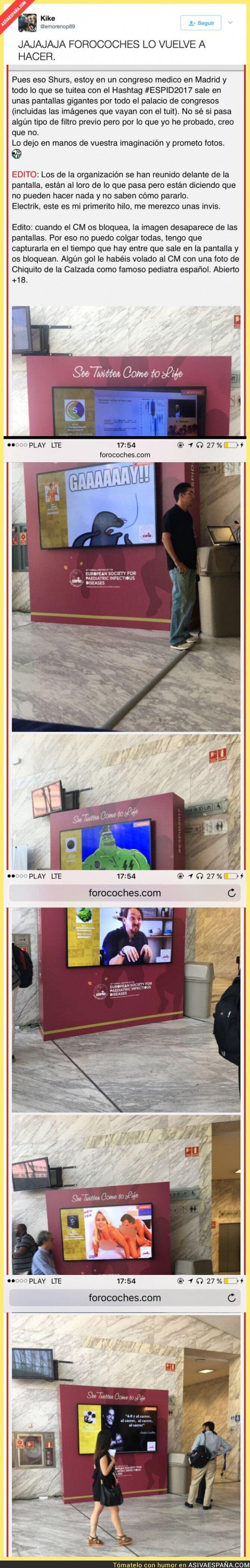 68602 - Forocoches trolea a lo grande este Congreso de Médicos en Madrid