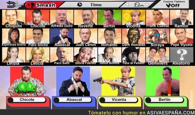 69001 - Super Smash Bros Spanish Edition