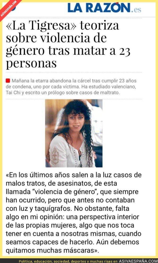69876 - Autora de 23 asesinatos. Todos hombres. Y no porque estuviera preocupada por la violencia de género