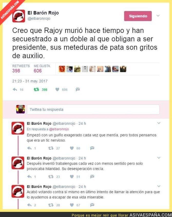 69994 - La teoría sobre Rajoy que está haciendo explotar cerebros