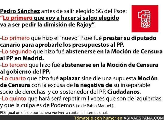 70170 - Se ha hecho corto el cambio en el PSOE