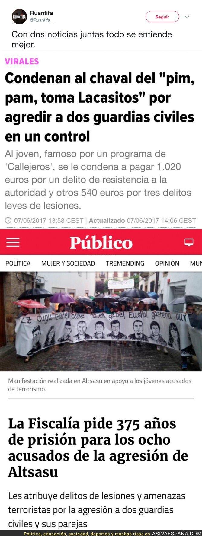 71095 - Dos condenas que describen España